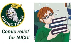 Comic Relief for NJCU – by Andrea Reyes