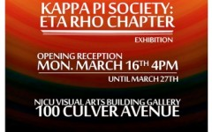 Kappa Pi – Eta Rho Chapter: Art Exhibition.