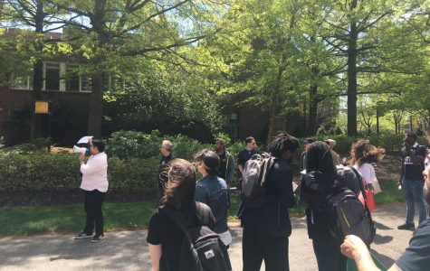 NJCU Media Students march for art